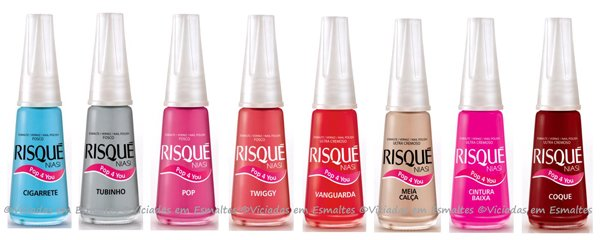 Esmaltes Risqué Pop 4 You