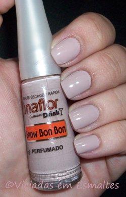 Esmaltes Fina Flor Drink Perfumados