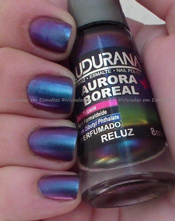 Esmalte Ludurana Multi Chrome Reluz coleção Aurora Boreal