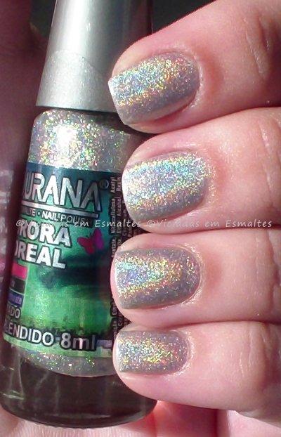 Esmalte Esplêndido Ludurana Aurora Boreal