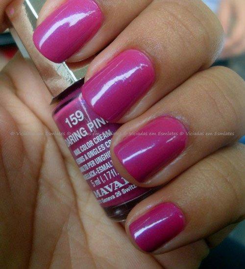 Esmalte Mavala Daring Pink