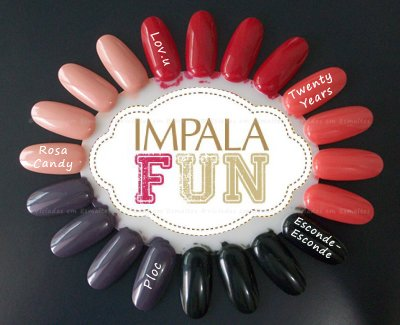 Esmaltes Impala Fun