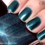 Esmalte Avon Argentina Sequined Turquoise