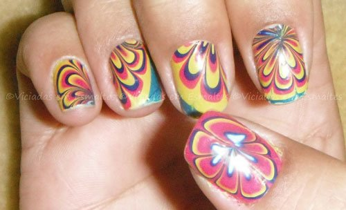 Marble Nails sem sujeira