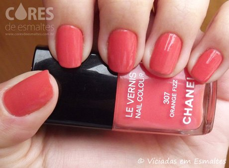 Esmalte Chanel Orange Fizz
