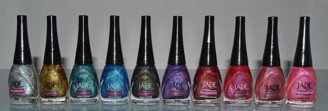 Esmaltes Holográficos Jade