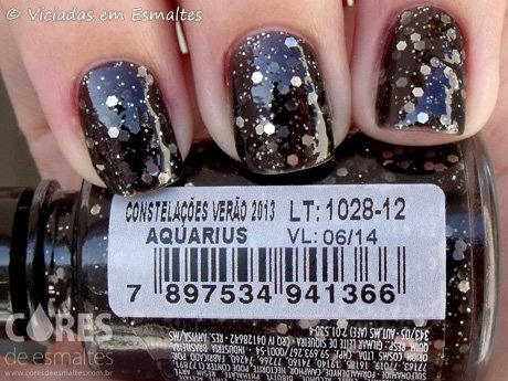 Esmalte Big Universo Aquarius Coleção Constelações Verão 2013
