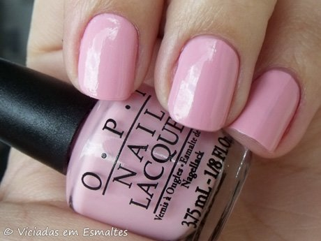 Esmalte O.P.I. Pink Friday Nicki Minaj
