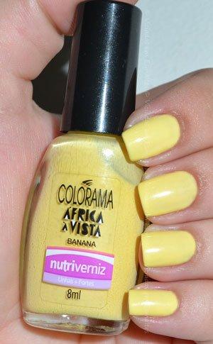Esmalte Colorama banana