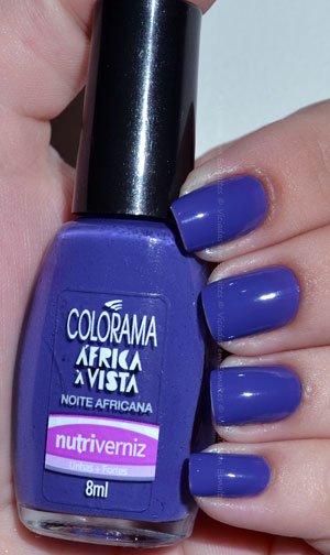 Esmalte Noite Africana Colorama