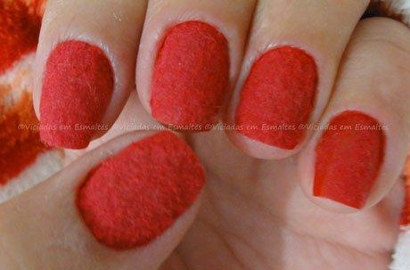 Plush Nails Vermelha