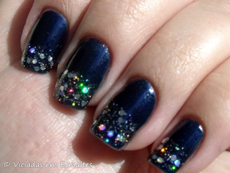 Ombré Nails Midnight Affair Revlon e Techno China Glaze