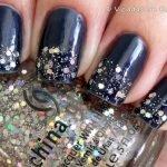 Ombré Nails Midnight Affair Revlon e Techno China Glaze