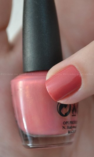 "Esmalte OPI My Address is ""Hollywood"" - rosa"