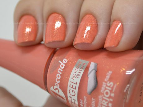 Esmalte Bourjois 1 Seconde Gel Coral Feerique