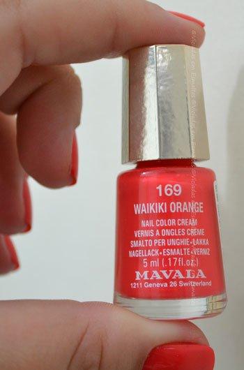 Esmalte Waikiki Orange Mavala