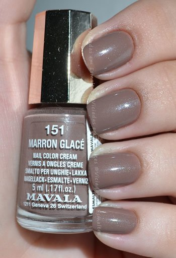 esmalte marron glac mavala mini color viciadas em esmaltes. Black Bedroom Furniture Sets. Home Design Ideas
