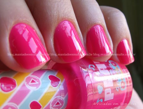 Esmalte Think Pink Capricho Play