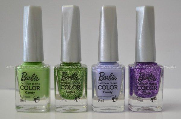 Coleção Barbie Fashion Teens Color Candy