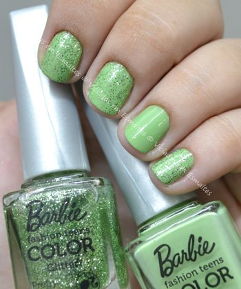 Esmalte Lollipop e Pretty Barbie Candy COlor