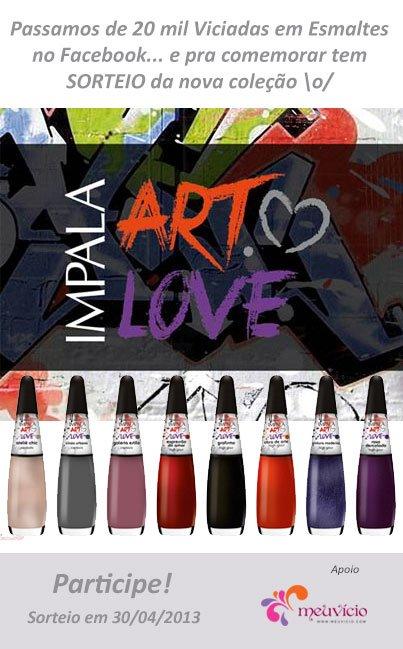 Coleção Impala Art Love