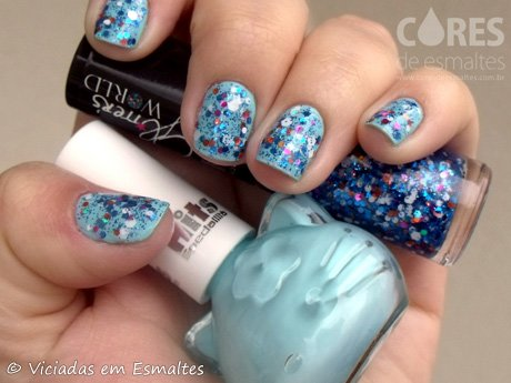 Esmaltes-Hits-SpeciallitaHello-Kitty-Mint-e-Dubai-Glitters-World