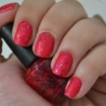 Unhas com Esmalte O.P.I Liquid Sand The Impossoble M48 Mariah Carey