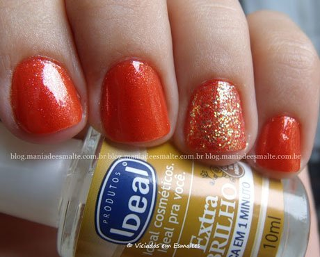 Esmalte DNA Sunset + Glitter Forte Hits Power Pop