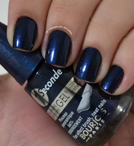 Esmalte1 Seconde Gel Bourjois Bleu Moonling