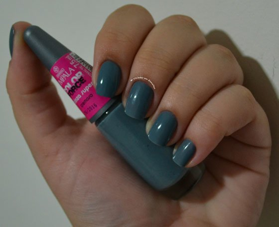 Esmalte Impala Cinza Super Color Force