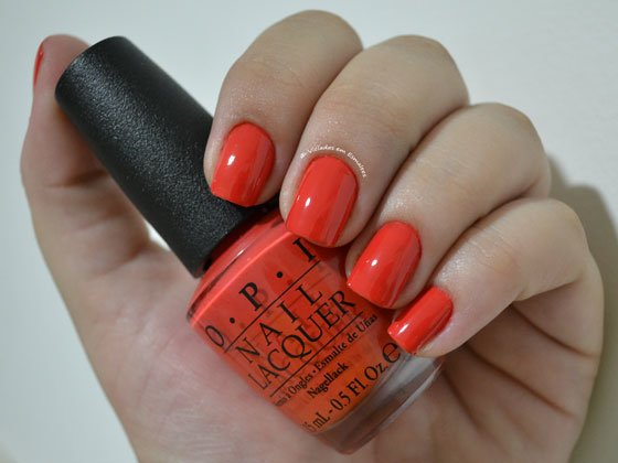 Esmalte O.P.I On The Same Paige