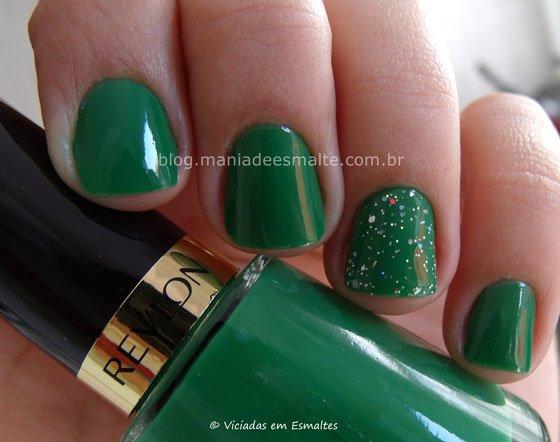 Esmalte Posh Revlon + Filha Única Glitter