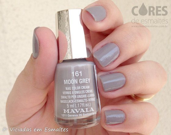 Esmalte Mavala Mini Color Moon Grey