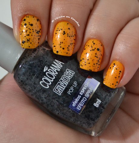 Esmalte pop Up Colorama Efeito Spray