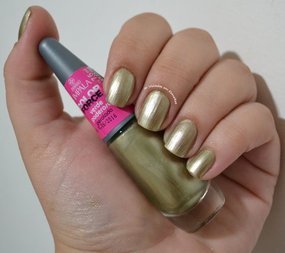 Esmalte Impala  Verde Poderoso Color Force
