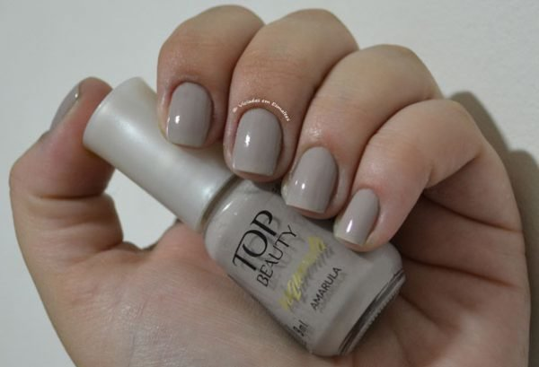 Esmalte Top Beauty Amarula