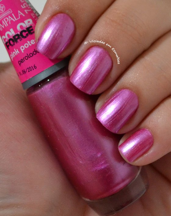 Esmalte Pink Potente Impala Color Force
