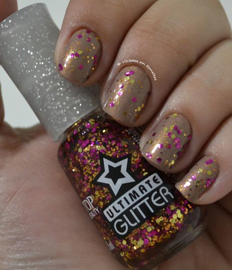 Esmalte Ultimate Glitter Vip Top Beauty