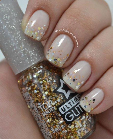 Esmalte Top Beauty Ultimate Glitter New Year