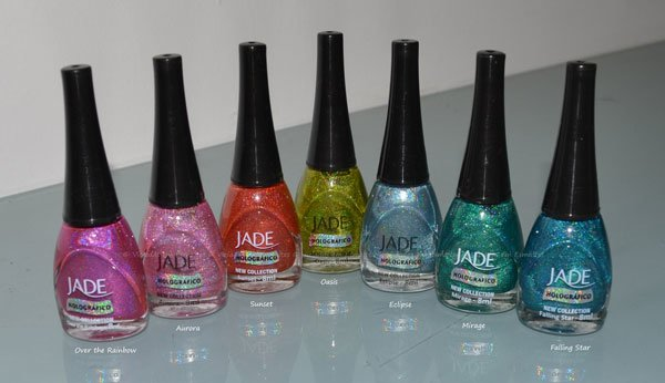 Coleção Jade Rainbow Effect