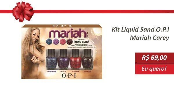 Esmalte Liquid Sand Mariah carey OPI