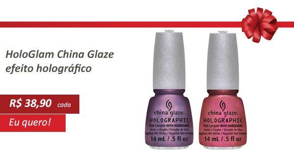 Esmaltes Hologlam China Glaze