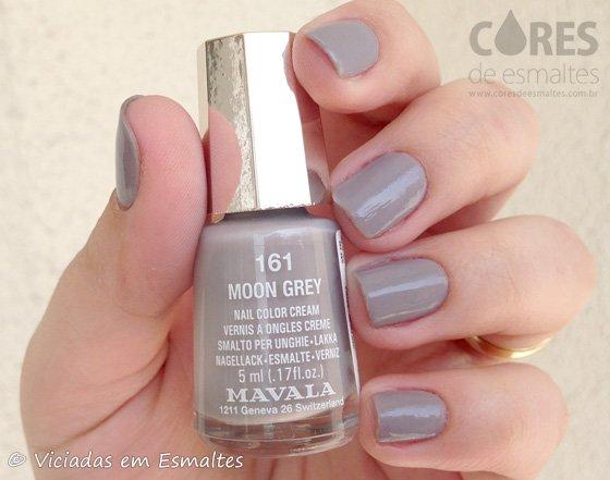 Esmalte Mavala Moon Grey