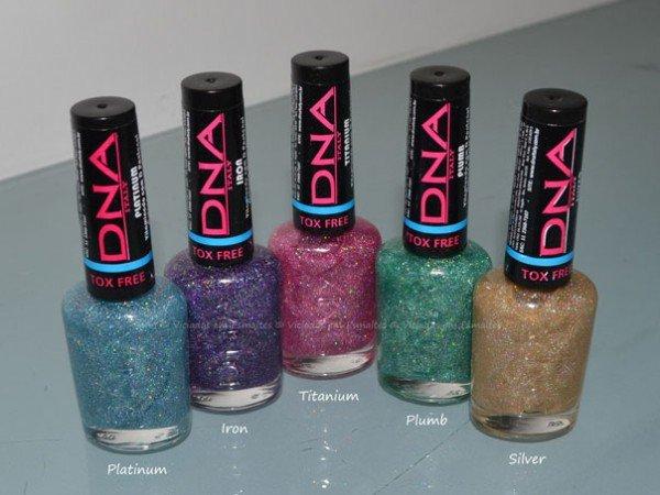 Coleção de Esmaltes DNA Italy Metal Shock