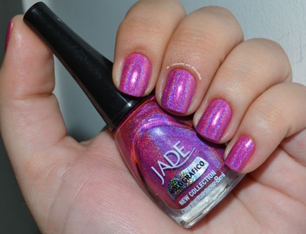 Esmalte Holográfico Jade Over the Rainbow