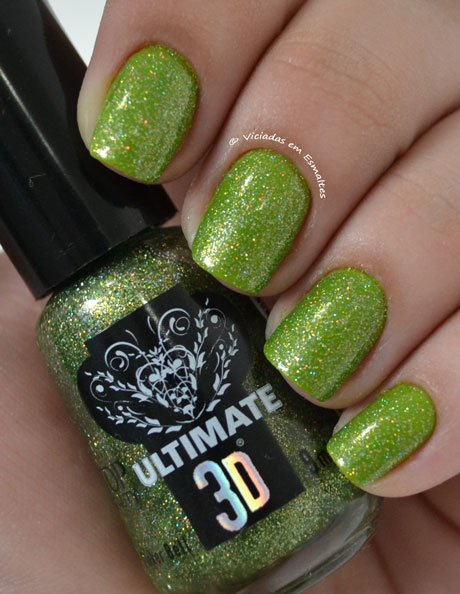 Esmalte Top Beauty 3D Tinkerbell