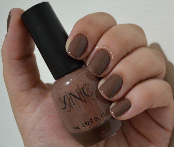Unhas com <b >Esmalte</b > Yenzah Nail Color