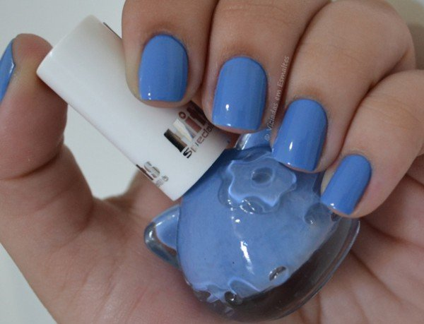 Esmalte Hello Kitty Blueberry