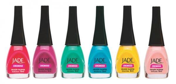 Coleção de Esmaltes Jade Talentos