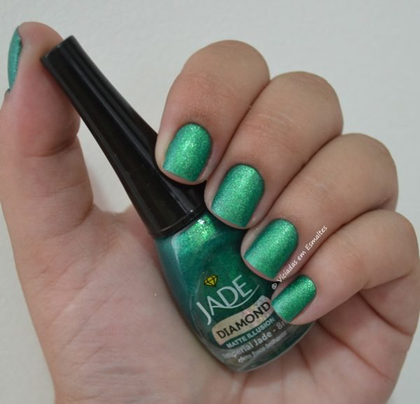 Esmalte Jade Diamond Matte Illusion